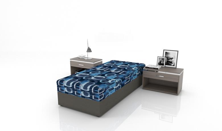 Jednolôžková posteľ  s úložným priestorom Alfa