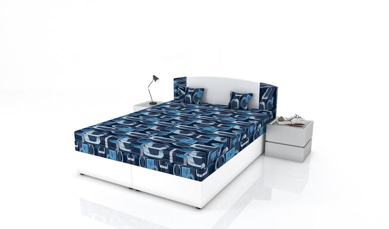 Moderná manželská posteľ Kappa