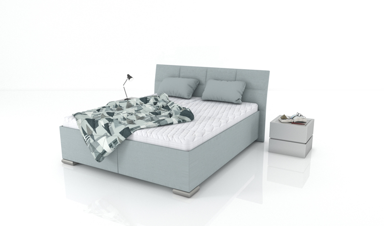 Elegantná manželská posteľ Lacerta