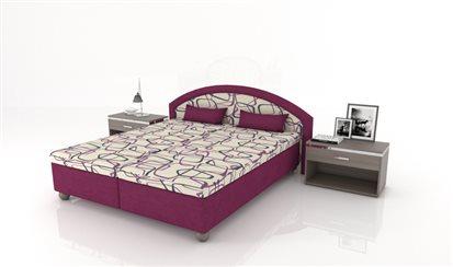 Klasická manželská posteľ Serpens