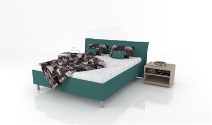 Manželská posteľ s voľne loženým matracom Virgo