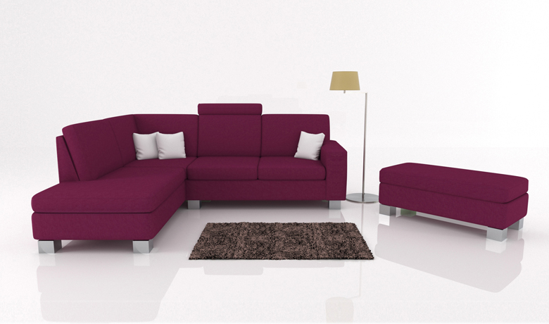 Moderná sedačka Lambda