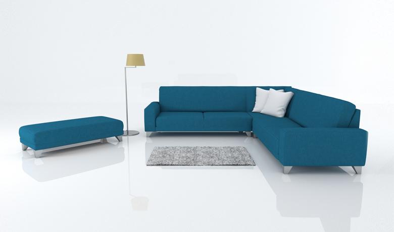 Dizajnová sedačka Malibu