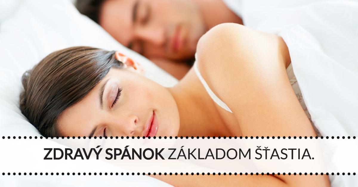 Zdravý spánok základom šťastia