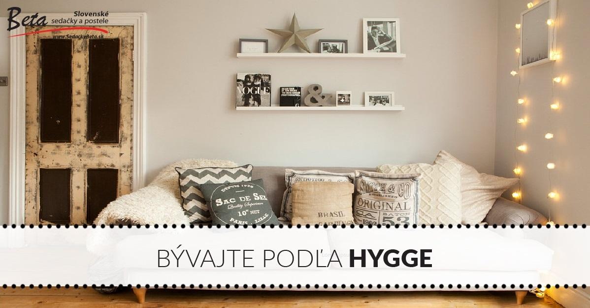 Útulná obývačka na dánsky spôsob. Bývajte podľa moderného štýlu hygge