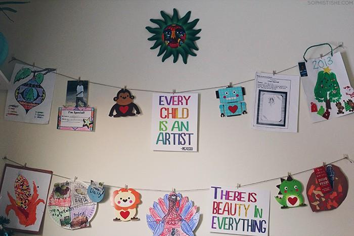 Detské dekorácie v izbe