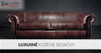 Luxusné kožené sedačky: 5 znakov, ktoré ich odlišujú od tých umelých