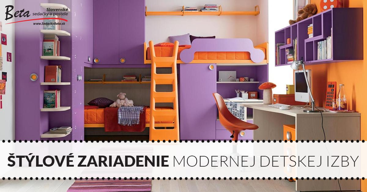 81a320ca50fa 4 skvelé nápady na štýlové zariadenie modernej detskej izby ...